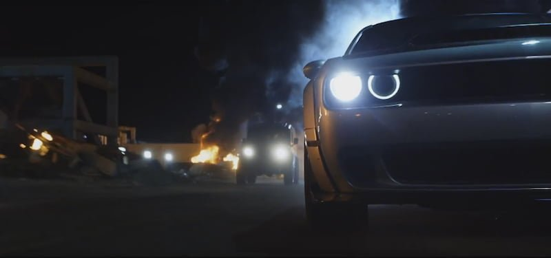 dodge challenger hellcat widebody fast and furious