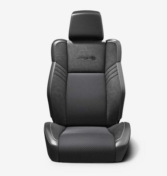 dodge challenger charger 2018 seats black