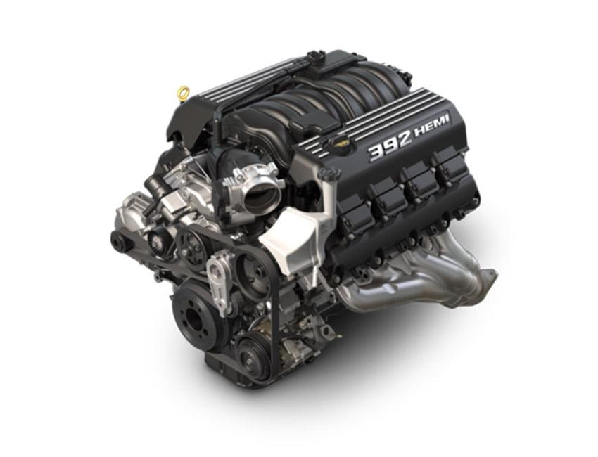 6.4-LITER V8 SRT HEMI ENGINE