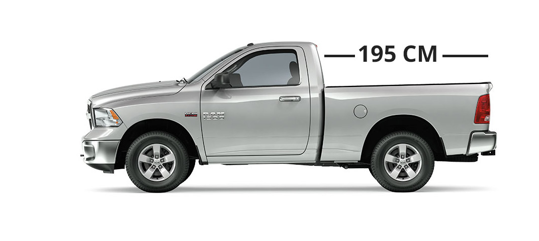 ram pickup trucks regular cab cargo 6.4'