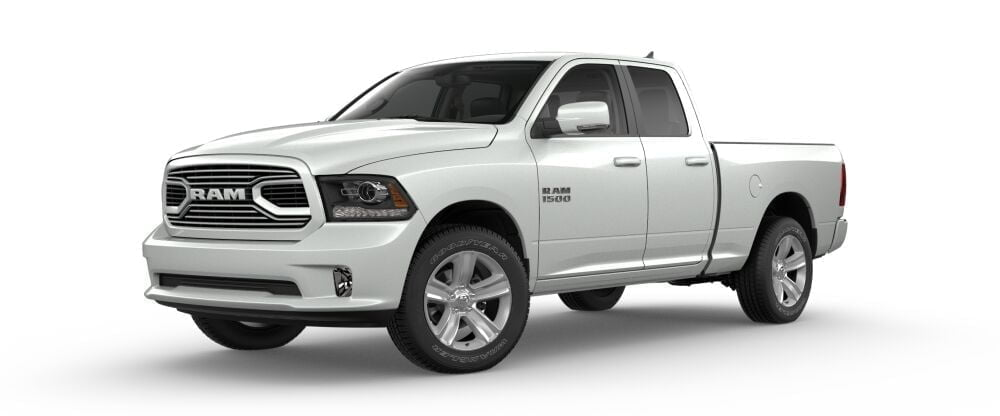 ram trucks 1500 sport my2018 white