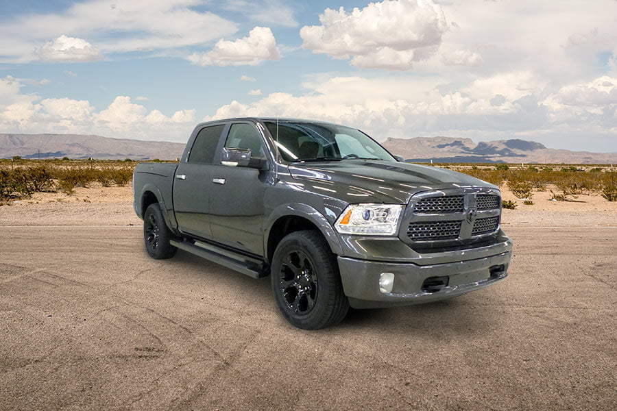 Dodge Ram 1500 pickup carbon special granite edition