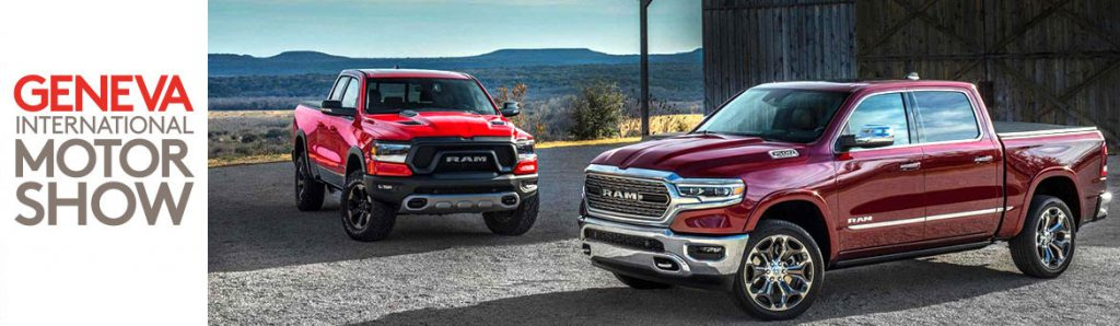Motor Show Geneva premiere RAM trucks 2019