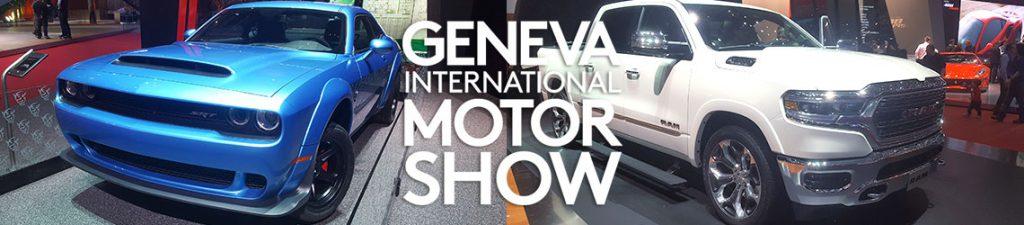 dodge and ram stand motor show international geneva 2018