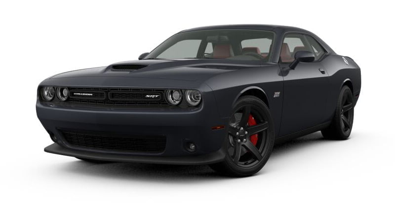 Dodge Challenger SRT 392 granite 2018 color