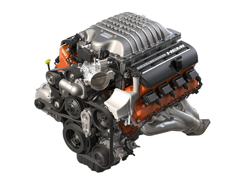 Image result for srt-hellcat engine images
