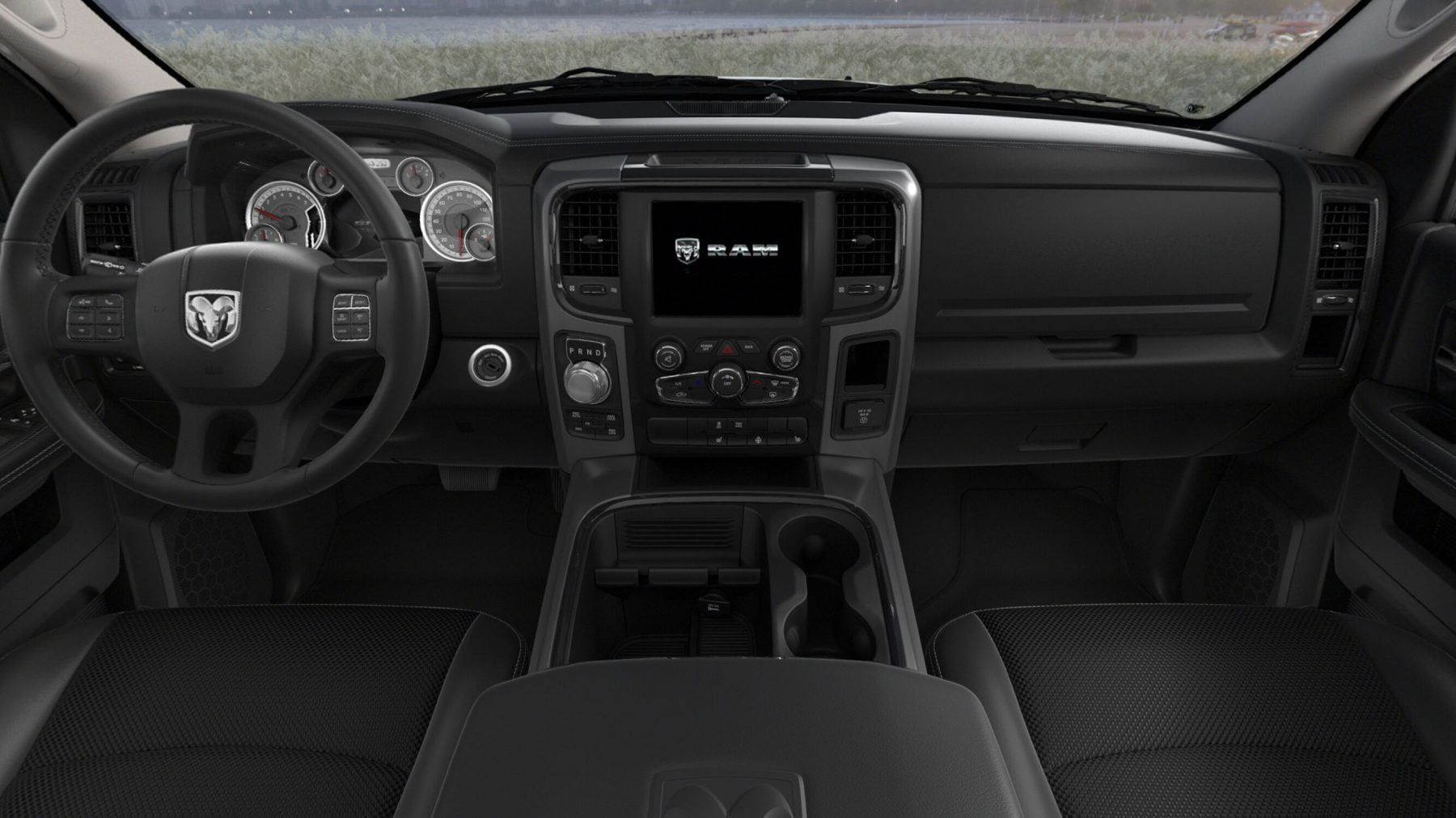 RAM 1500 Leather-Trimmed Bucket Seats