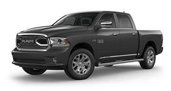 Ram 1500 luxury pickup Limited brilliant black