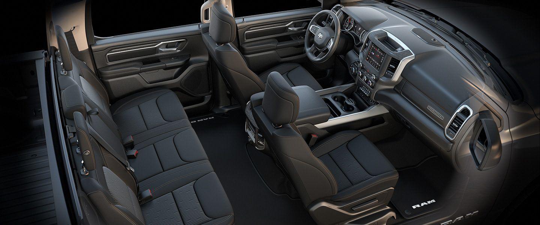 ram 1500 horn interior seats dodge bucket pickup