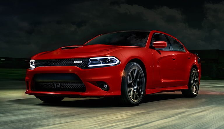 Dodge Charger daytona driving in the night