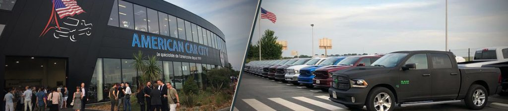 RAM 1500 dealer in France American Car City