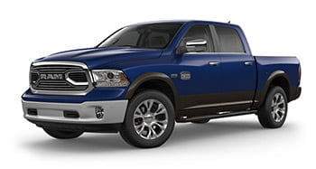 Ram 1500 Pickup Laramie Longhorn blue two tone