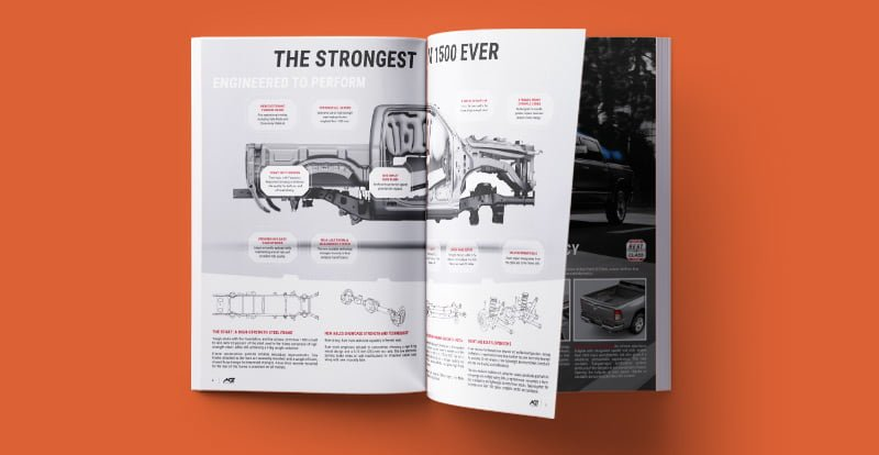 2019 Ram trucks official brochure agt europe