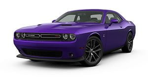 Dodge Challenger Scat Pack plum crazy purple