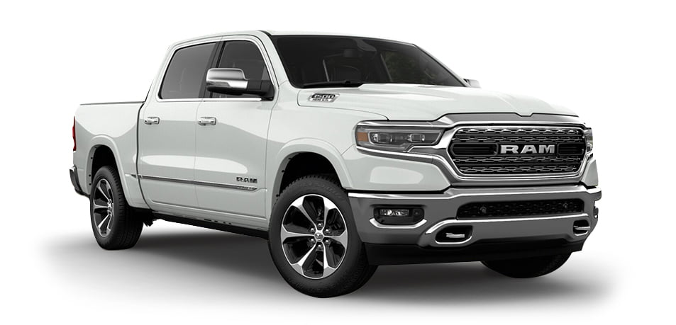 Dodge Ram 1500 Limited white