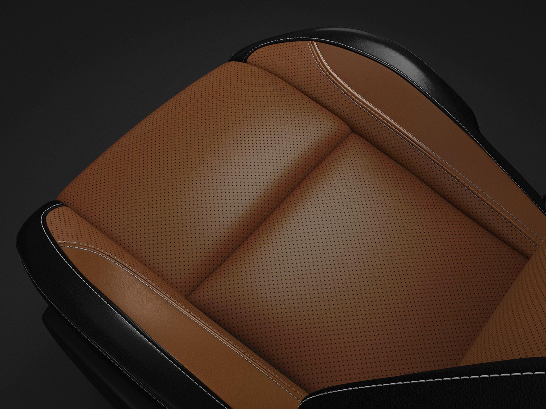 dodge challenger caramel seats