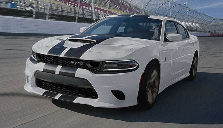 2019 dodge charger srt hellcat racing track
