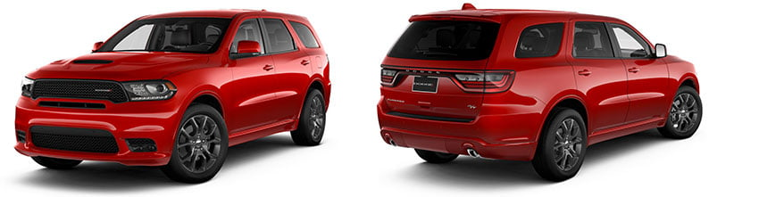 2019 dodge durango R/T red