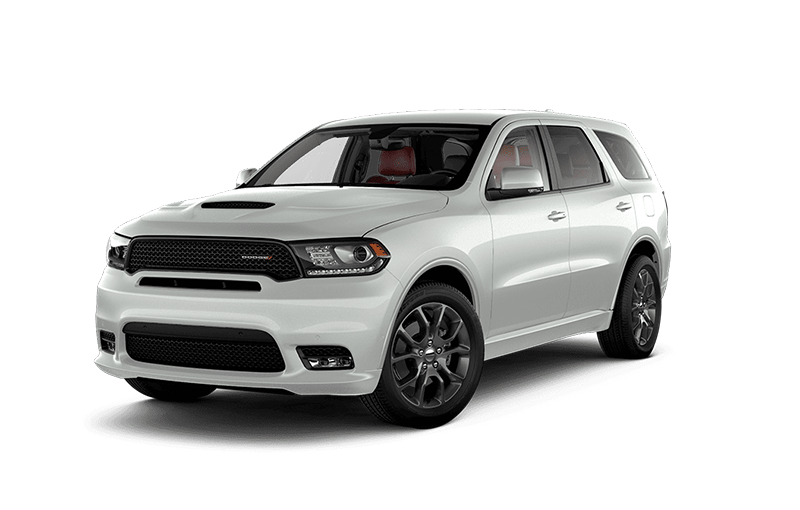 2019 dodge durango RT white sports SUV