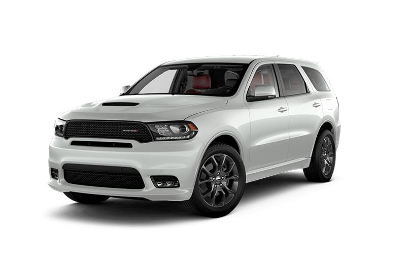 2019 dodge durango RT white sports SUV