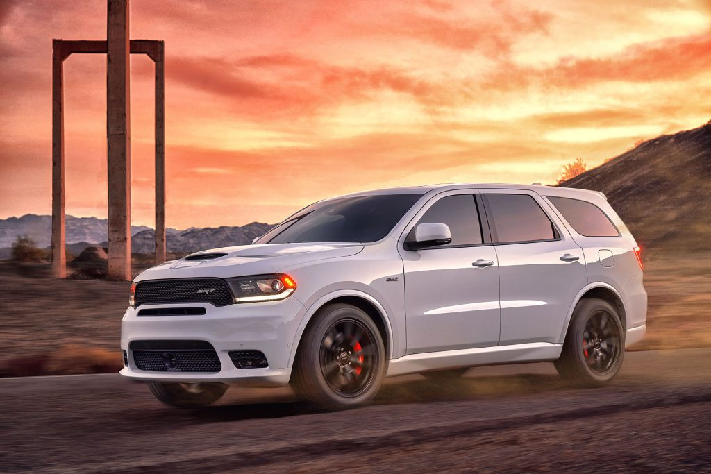 Buy Dodge Durango Srt American Suv Official Importer
