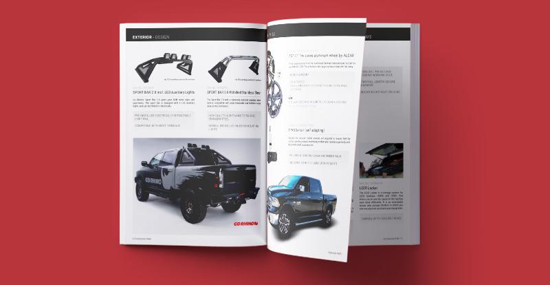 catalog official accessories dodge ram trucks