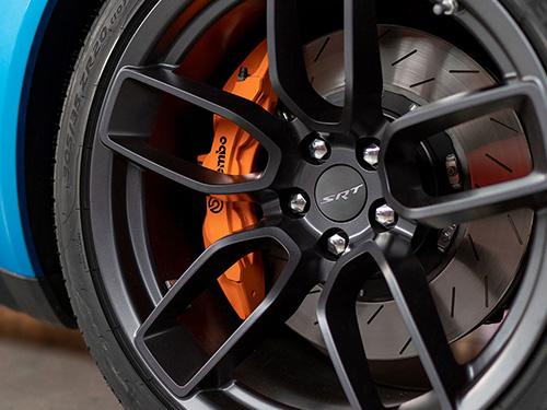 blue Dodge Charger wheel