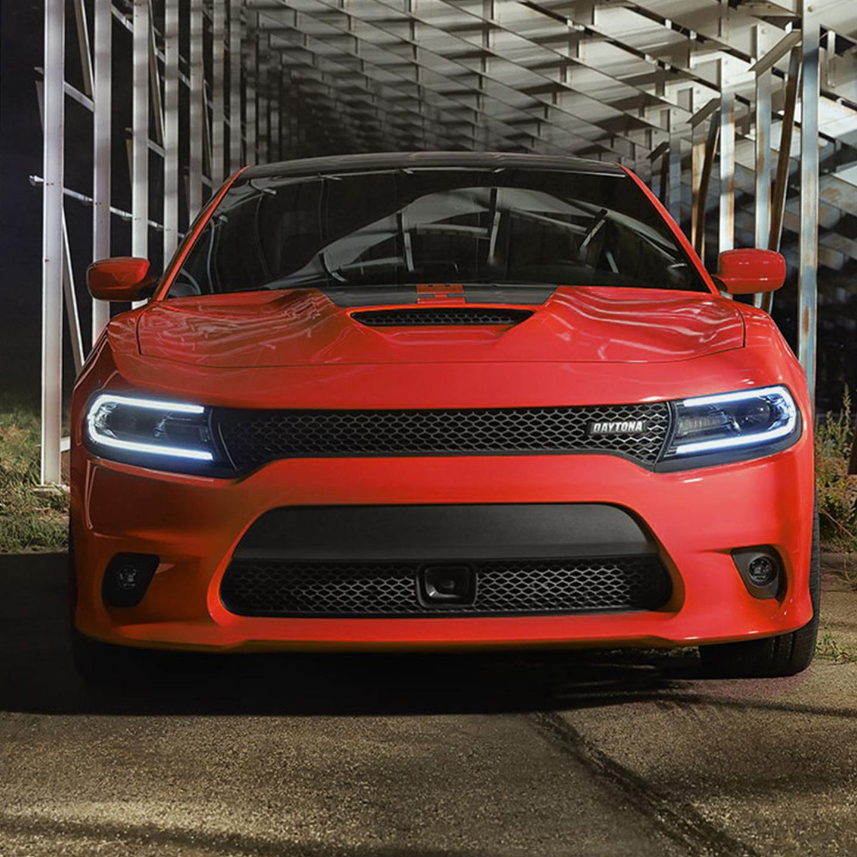 Red Daytona Charger