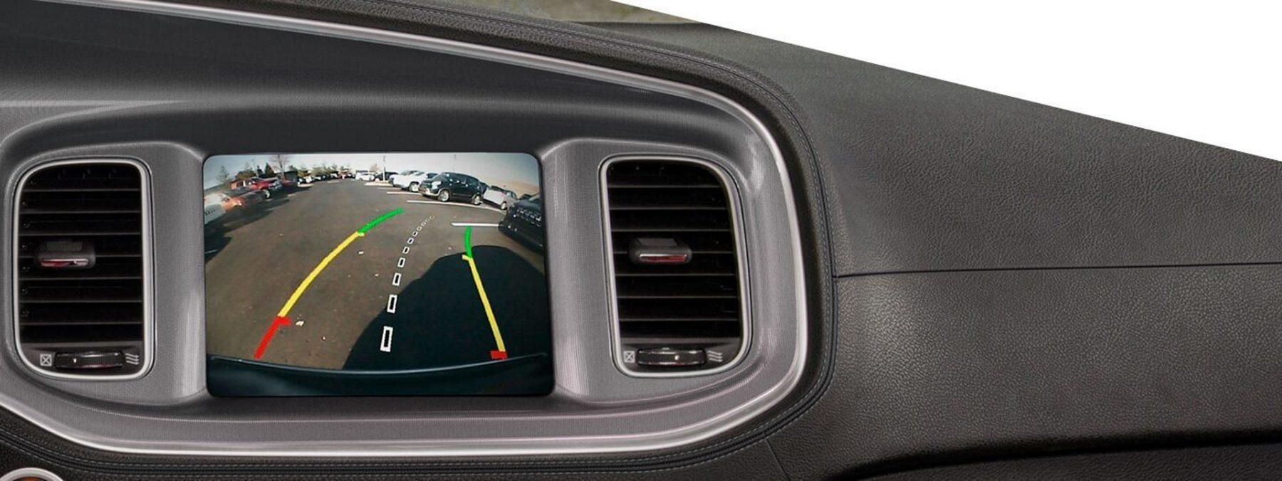 Dodge parking camera assistance
