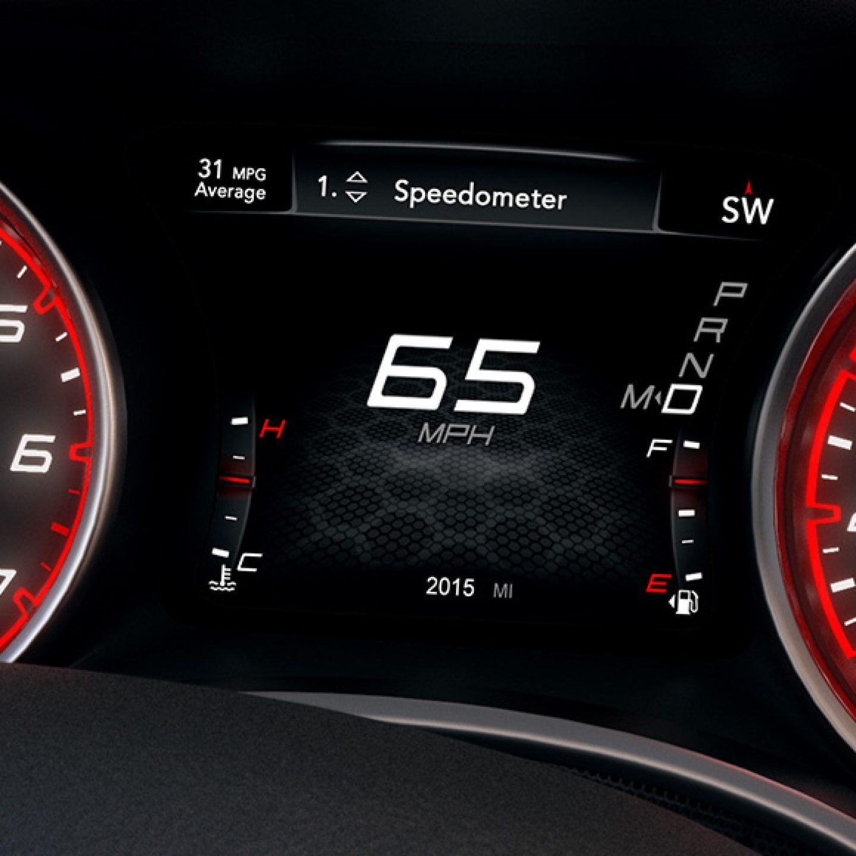 Charger speedopmeter
