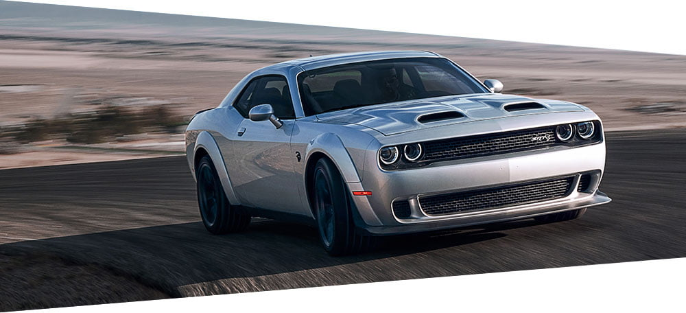 dodge challenger muscle car 717 horsepower
