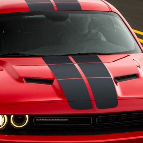dodge challenger blacktop stripes