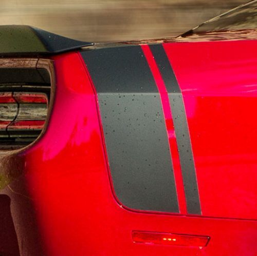 2019 dodge challenger scat pack rear graphics