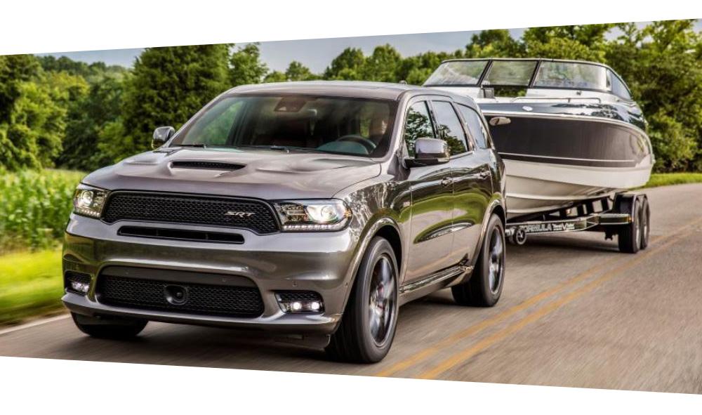2019 Dodge Durango performance towing Agt Europe