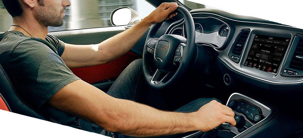 car cockpit Dodge Durango