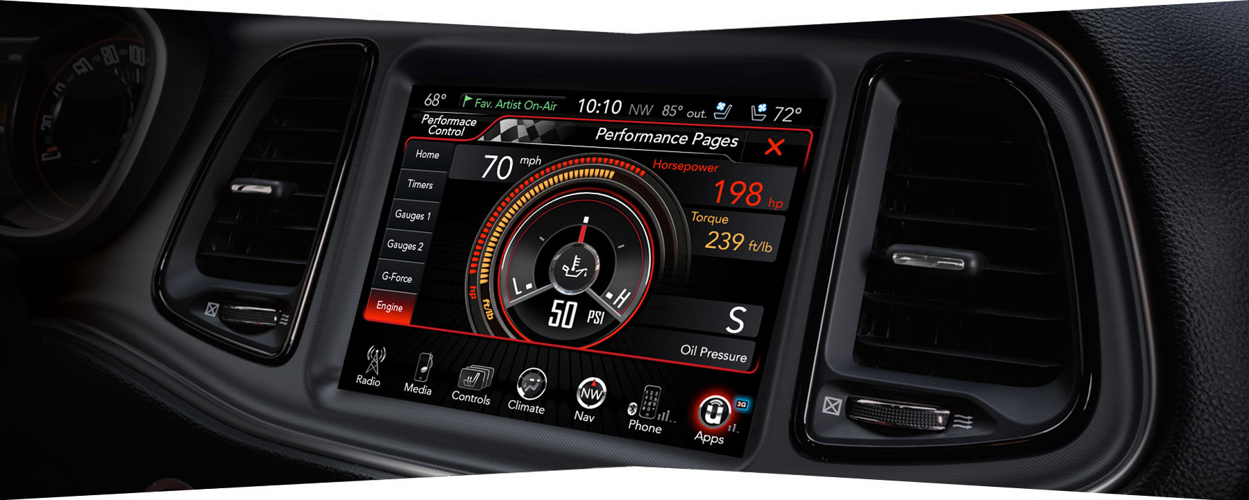 2019 dodge performance pages engine statistics