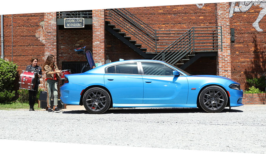 b5 blue dodge charger