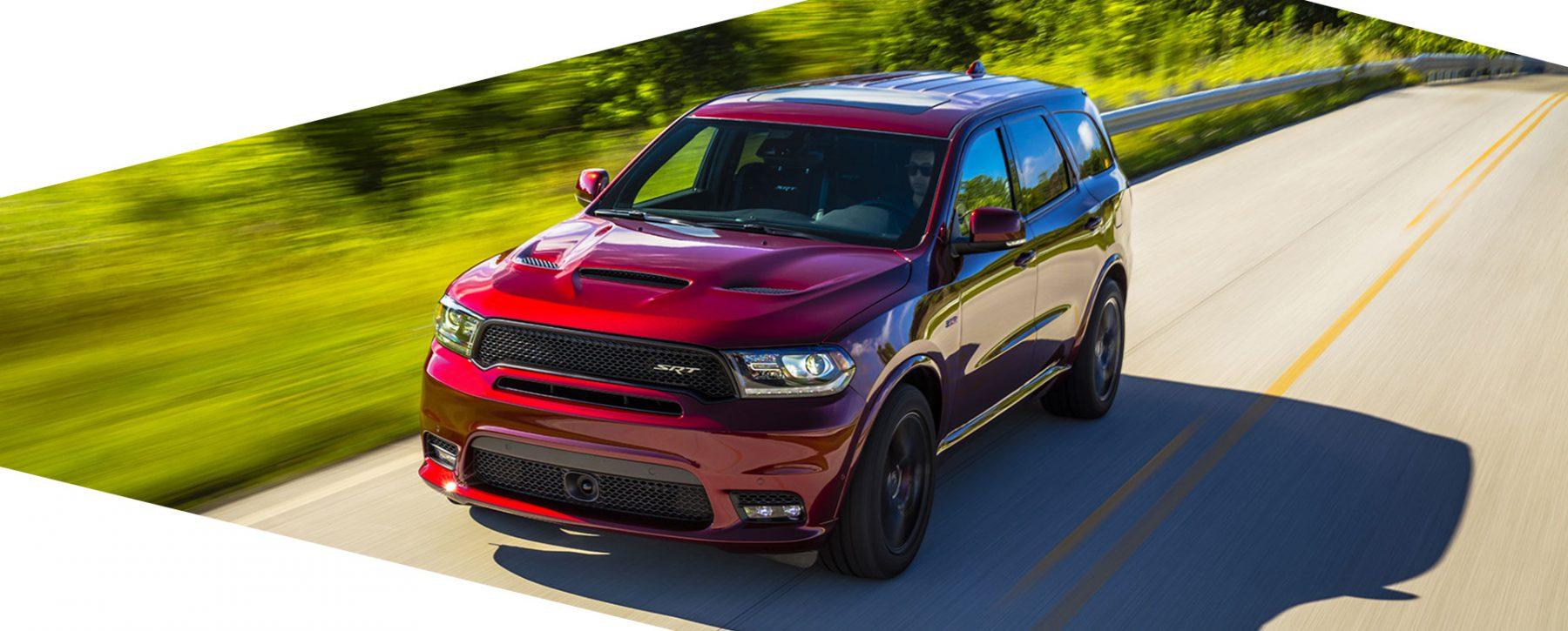 Red Dodge Durango SRT