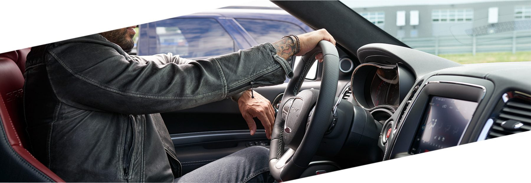 Man drives Dodge Durango SRT