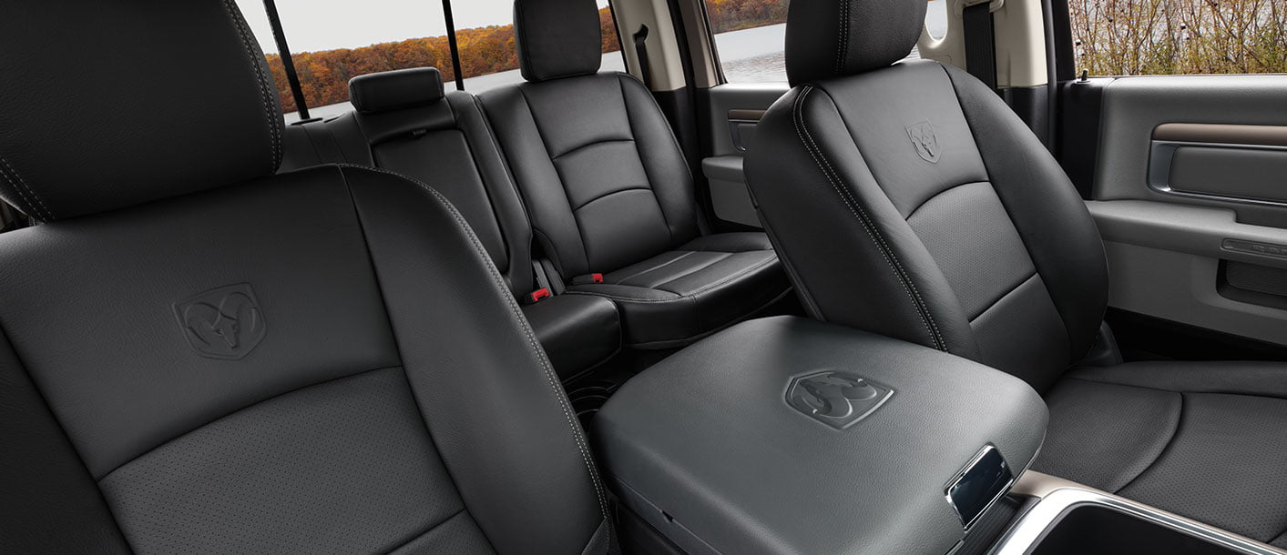 dodge ram 1500 premium leather seats interior