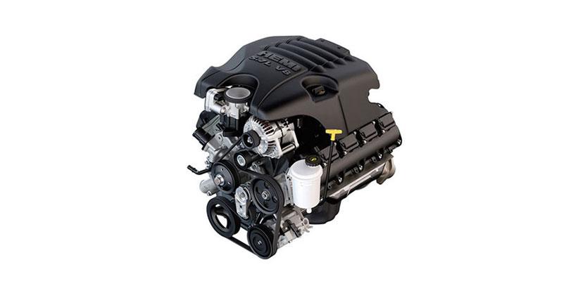 5.7L Hemi V8 engine dodge ram