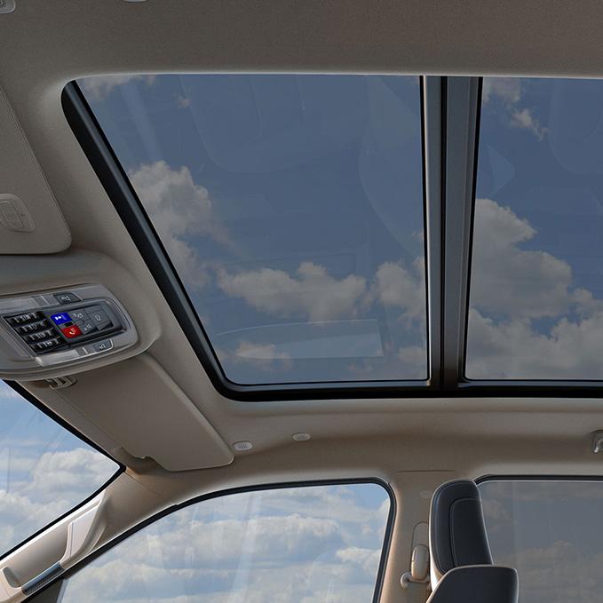 ram 1500 panoramic sun roof