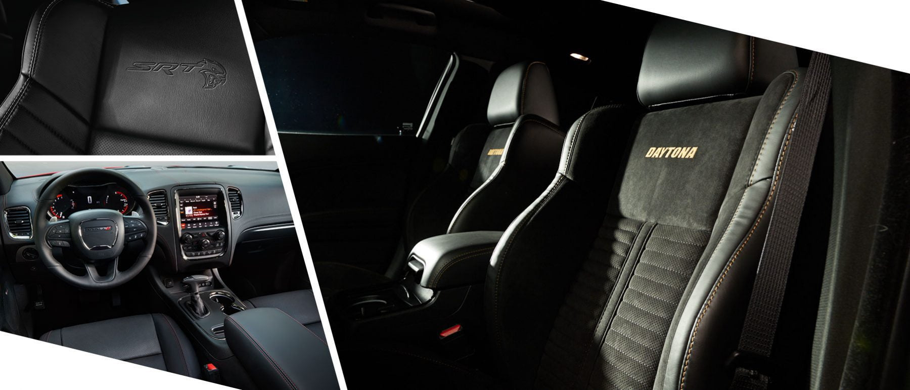 2019 dodge charger daytona and srt interior