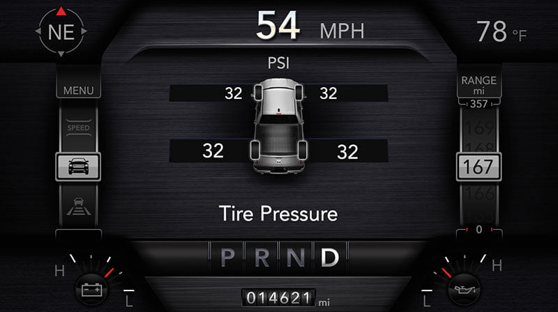 Tire Pressure Monitoring System on dodge ram trucks