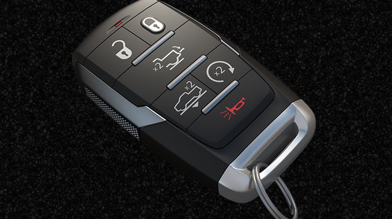 Keyless Enter 'n Go Ram Trucks vehicle key